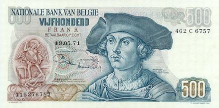 betalen briefje 500 euro