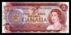 2 Canadese Dollars