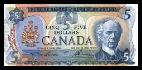 5 Canadese Dollars