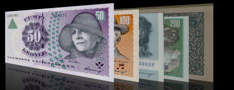 oude noorse 100 biljetten